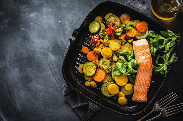 creamy-chive-salmon-with-courgettes